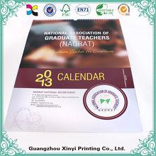 Custom Design Made Islamic Wall Calendar 2014