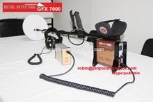 Individuare cooperazione tecnologica., Ltd terreno di ricerca del metal detector gfx7000 rilevatore di lungo raggio qualità come soffitta metal detector,