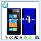 PC silicon mesh hard case for Nokia 920