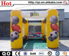 Low price popular challenge kids pitch for sports competition inflatable sport football
