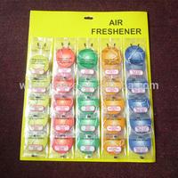 Paper Car Air Freshener with cardboard display