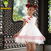 fancy casamento flor meninas vestidos de festa infantil roupa por atacado da porcelana