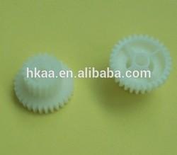 plastic double spur gear combination printer gear fuser gear for printer