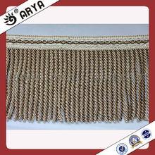 sofa fringe and trim,bullion fringe manufacture,cotton bullion fringe
