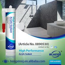 High Performance Paintable Waterbase Concrete Acrylic Sealant