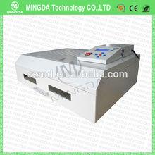 Nuovo design alla moda macchina di saldatura reflow, rifusione forno scrivania, t-962c rifusione forno a infrarossi