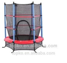 Hot sale Kids Indoor Trampoline Bed,Kids trampoline, trampoline with safety net