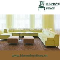 Modern design living room furniture large fabric sofas