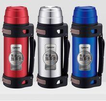 1200 ml vacuum travel pot water bottle stainless steel baby bottle carrier