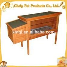 Handmade Indoor Rabbit Hutch Wooden Rabbit Nest Box Pet Cages, Carriers & Houses