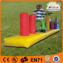 Most excellent quality creative design water bridge inflatable aqua toys