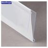 PVC N shape data strip price holder