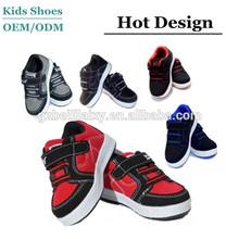 Baby Toddler Boy Girls Velcro Tennis Casual Black Shoes
