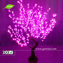 GNW tr115 outdoor pink LED christmas tree decoration / led tree lighting