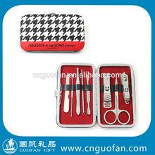 2014 Travel Manicure Pedicure Set /Mini Stainless Steel Manicure SetGF-FM108