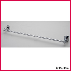 B01-6 100% BRASS GOOD QUALITY BRASS TOWEL BAR CHROME PLATED