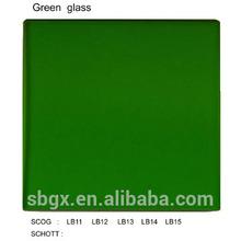 LB8 green reflective glass