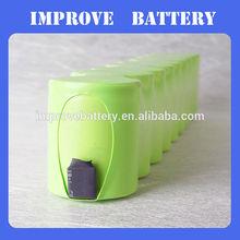 NiMH Battery Pack: 12V 5000mAh NiMH Battery Pack for 12V DC Portable Devices / Walking Robot