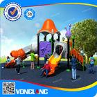 Kids playground plastic slides used outdoor playground equipment