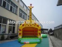 giraffe design inflatable bounce house