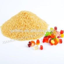 Edible gelatin used in food industry