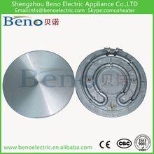 Cast aluminium heating element