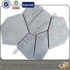 Natural grey slate flagstone patio tile