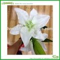 pvc material tiger lily falso flores decoração de casamento