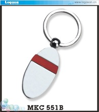Newest 2015 customized Shape blank metal Keychain