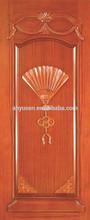 Oak office solid wood entry door