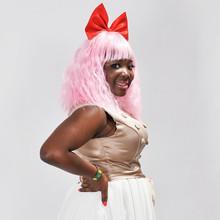 HOT 6A factory pink human hair wigs