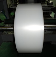 Manufacturing high barrier nylon PE five layer co-extrusion food vacuum packaging plastic film in roll