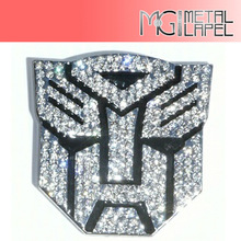 Car Metal Badge Emblem Sticker Transformers Decepticon 3D Logo,Wholesale Anime Transformers autobot Decepticons car sticker Logo
