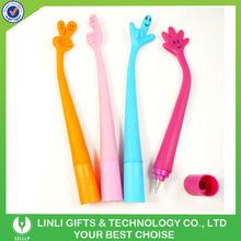 OEM Logo Design Silicone Finger Pen