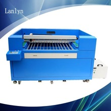 china machine supplier export to singapore ball screw PVC die board laser cutting machine 1200w