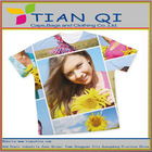 colorful white design your own style t-shirts in summer sports womans t-shirts