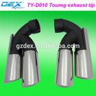auto spare racing exhaust tip tuning muffler tip performance Toureg exhaust tip