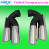 auto spare racing exhaust tip tuning muffler tip performance Toureg exhaust tip