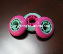 best price speed PU quad skate wheel/inline rubber skates wheels