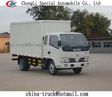 LHD box van truck 5Ton,2t payload van truck
