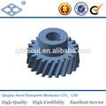 JIS mecanizado de acero al carbono estándar M1.5 T36 grado de metal sinterizado rueda de engranaje helicoidal