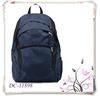Custom Patchwork Outdoor Travel Backpack Navy School Bag