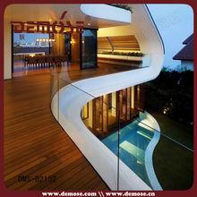 clear guardrail balcon en verre sans cadre