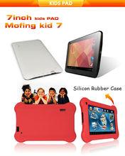 "7"" Rk3026 Dual Core Fashion Kid Pad with Silcon Cover"