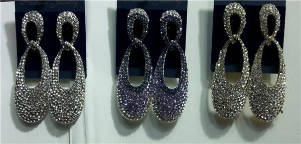 PROFESSIONAL JEWELRY FACTORY diamond dangler earrings
