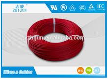 Usado em eletrodomésticos trançado borracha de silicone revestido de fios elétricos