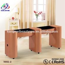 Nail polish table standing rack display/salon nail technician tables for sale/nail salon table KM-N032-2