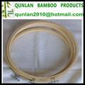 7-30cm bambu mão bordado pontocruz hoops