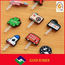 2014 hot sale! high quality anti dust laptop jack /dust plug charm