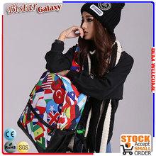BBP127 Colorful Trendy Pattern teenage school bags and backpacks waterproof backpack